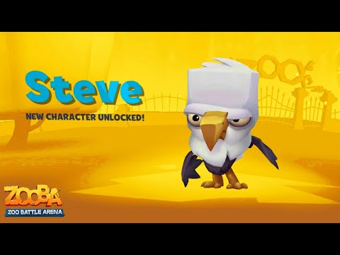 Zooba Eagle STEVE (Pay To ❌Win | ✔️Lose) Zooba Zoo Battle Arena