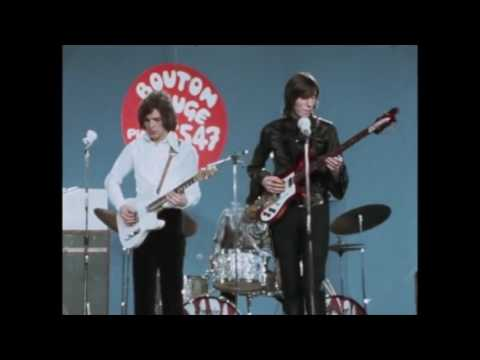 """Pink Floyd playing a number of their early hits on the French tv show """"Bouton Rouge"""" in 1968."""