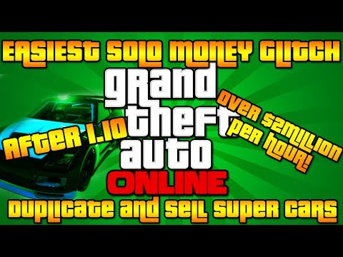 gta-online:-new-easiest-solo-money-glitch-tutorial!-|-over-$2million-per-hour!-sell-super/any-car!