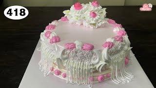 chocolate cake decorating bettercreme vanilla (418) Học Làm Bánh Kem Đơn Giản Đẹp - Đan Dây (418)
