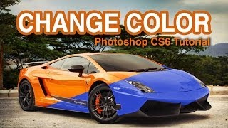 How to Change Car Color in Photoshop - Tutorial