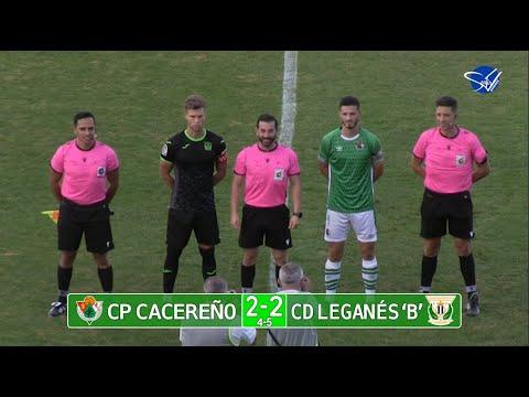 XXXIV Trofeo Ciudad de Cáceres: CP Cacereño - CD Leganés 'B'