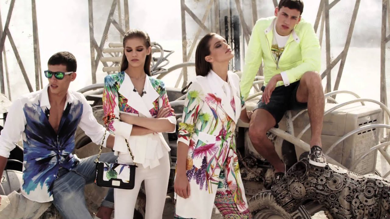 outlet store f6dfb 5ee89 Just Cavalli SS 2014 Advertising Campaign