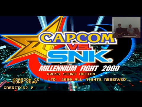 Repeat Capcom vs SNK 2 Playing Emulador Demul + All Roms Atomiswave
