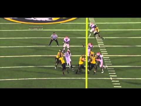 Jarvis Jones Interception vs Missouri