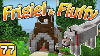 FRIGIEL & FLUFFY : Ma belle église | Minecraft - S5 Ep.77