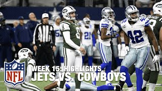 Jets vs. Cowboys | Week 15 Highlights | NFL