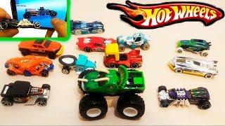 HOT WHEELS СРАВНИВАЮ ИГРУШКИ машинки с тачками в ИГРЕ ХОТ ВИЛС ПОГНАЛИ распаковка unpacking the toys