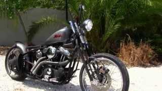 Used 2003 Harley-Davidson XL883 Custom Bobber Motorcycle for sale