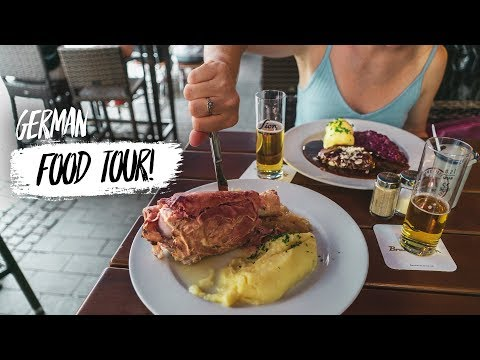 German Food - 4 Dishes You HAVE To Try In Cologne, Germany (Americans Try German Food)