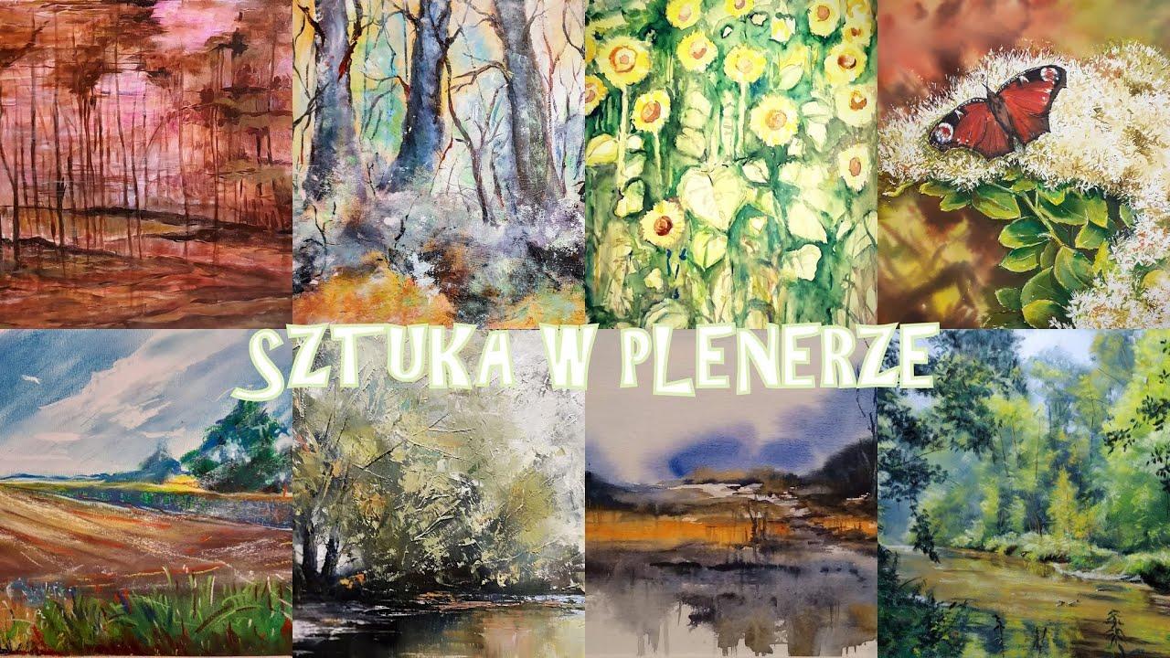 """Wystawa online członków S.A. Faun - Art """"Sztuka w plenerze"""""""