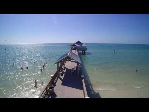 Clearwater Beach Drone Video