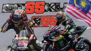 Hafizh Syahrin 55 MotoGP Special Video for 1.5k Subscribed