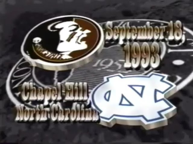 1993-fsu-football-vs-north-carolina-highlights
