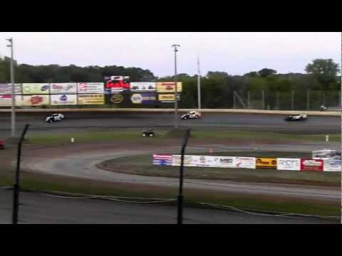 USMTS @ Deer Creek Speedway Hunt Race #13  Heat #4   9-1-2012