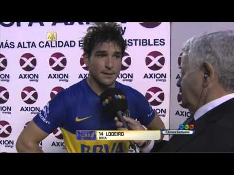 """Lodeiro: """"Había que sacrificarse"""". Boca 0 - Lodeiro 0. Fecha 12. Primera División 2016."""