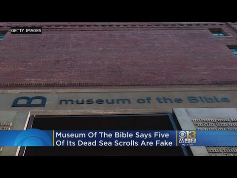 Bible Museum Says Five Of Its Dead Sea Scrolls Are Fake