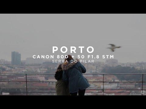 Porto, Portugal + Canon 80D + Canon 50mm 1.8 STM + Neutral Picture Profile