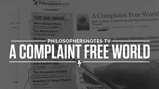 A Complaint Free World by Will Bowen Thumbnail