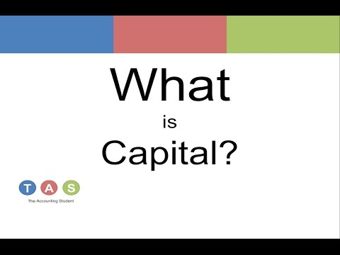 What is Capital?