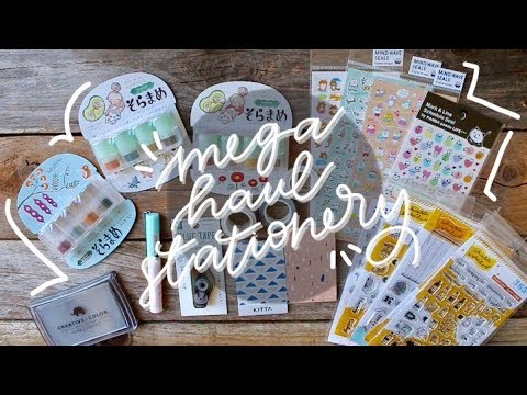 MEGA HAUL 2 STATIONERY ❤︎ ApuntoC