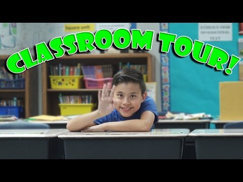 Class ROOM TOUR!!! Open House at School!