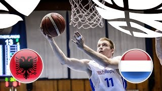 Albania v Netherlands - Full Game - Class. 15-16 - FIBA U20 European Championship Division B 2018