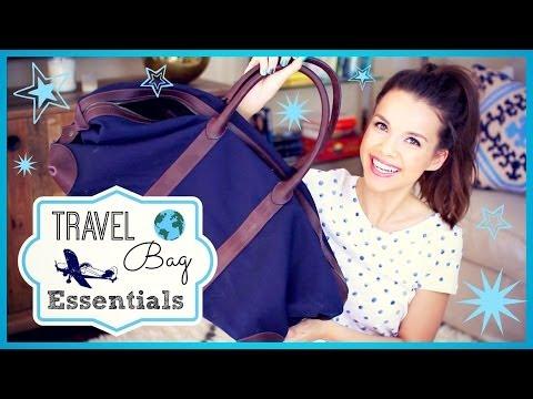 Make My Travel Bag Essentials! ✈ Pics