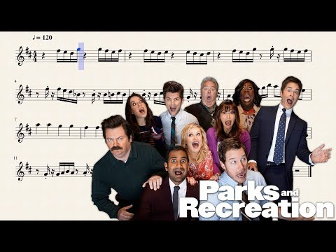 Parks and Recreation Theme for Bb Trumpet