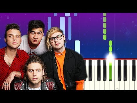 5 Seconds Of Summer - Teeth (Piano Tutorial)
