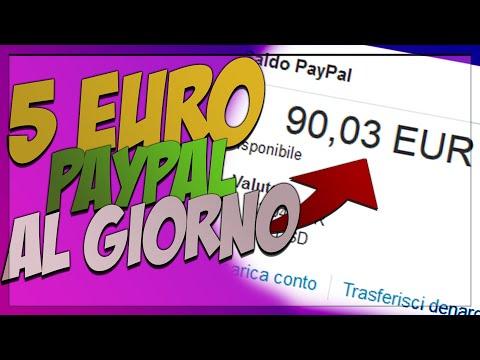 GUADAGNARE 5 EURO AL GIORNO SU PAYPAL!