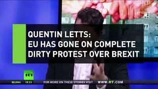 Quentin Letts: EU establishment are dirty protesting over Brexit