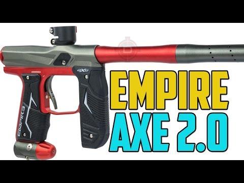Empire Axe 2.0 Paintball Gun - 4K