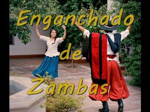 """""""Enganchados de Zambas""""  Temas Clasicos y Lo Nuevo Del Folklore Argentino"""