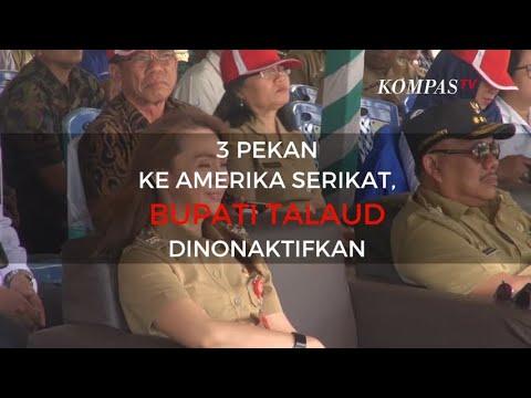 3 Pekan ke Amerika Serikat, Bupati Talaud Dinonaktifkan