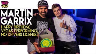 Martin Garrix Celebrates His Birthday, Talks Vegas and Why He Doesn't Drive