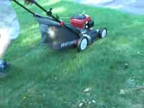 """Honda 5.5HP on a Craftsman DLM 21"""" Lawn Mower Three-In-One"""