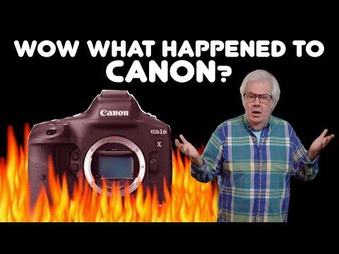 CANON 1DX Mark III CRASHES THRU -