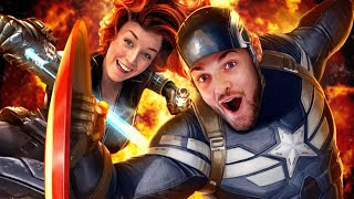 Ali + Clare JOIN THE AVENGERS!