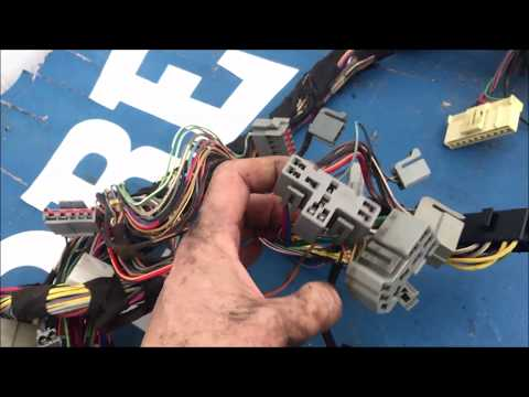 1993 Ford Mustang Dashboard Wiring Harness Replacement CH Foxbody 5.0 Mass Air Flow Computer Grade A
