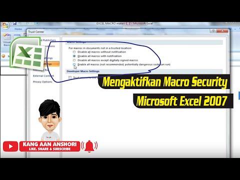 Cara Mengaktifkan Visual Basic Di Excel 2010