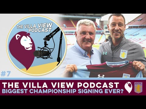 The Villa View Podcast #7 | THE BIGGEST CHAMPIONSHIP SIGNING EVER?