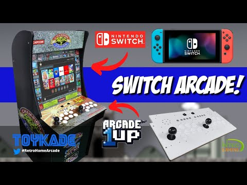 Unboxing & Review IntecGaming - Turn your Arcade1up cab into Nintendo Switch Arcade for $135! from ToyKade