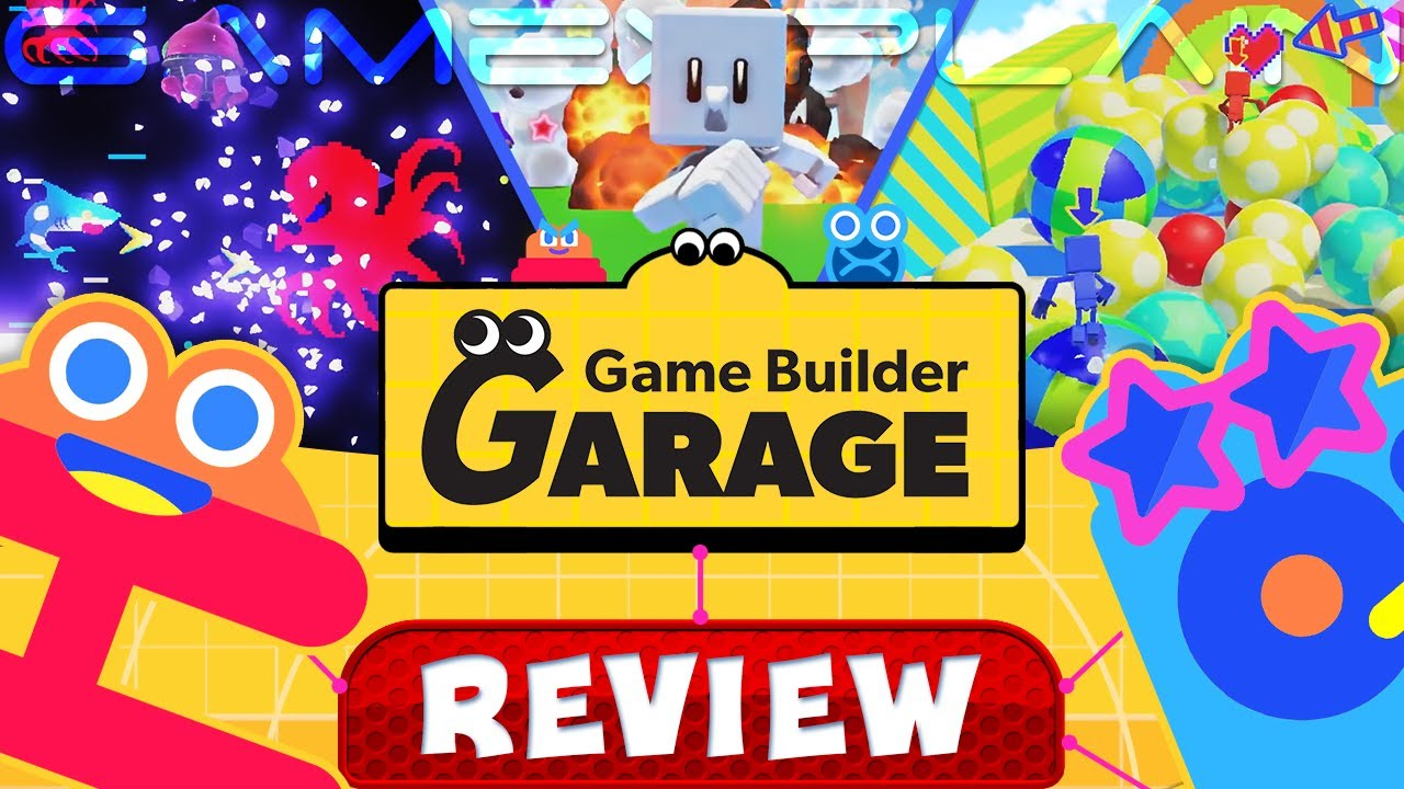 Game Builder Garage is Impressive, but Not Perfect - REVIEW (Switch) (Video Game Video Review)