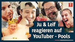 Julien Bam & Poolprofi Leif reagieren auf YouTuber Pools
