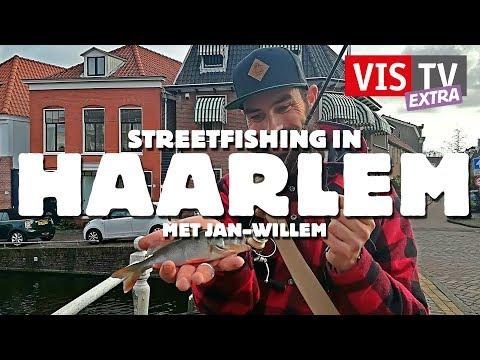 VisTV Extra #34 - Streetfishing in Haarlem met Jan Willem