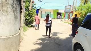 MWANAMKE MALAYA AKOMESHWA CHEKI ALIVYO FANYWA
