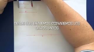06   Construcciones con regla y compás - Triángulo Dados 3 Segmentos