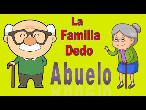 finger-family- -familia-dedo-con-abuelos---canciones-infantiles-populares-para-aprender-con-bebés