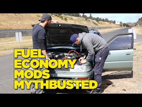 Budget Fuel Economy Mods - MYTHBUSTED